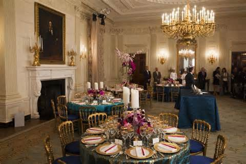 white house dinner official president obama state china sports hawaii blue