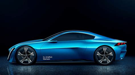 Peugeot Coupe 2019 render 2017 peugeot instinct coupe concept new 2019