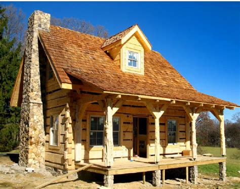Pavillon Naturstamm by Wow We This Cottage 171 Country Living