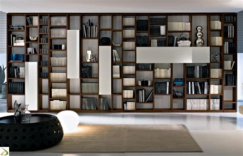 libreria it libreria moderna in legno booki arredo design