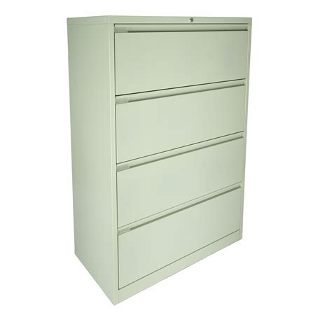 Lateral File Cabinet 4 Drawer Lateral Filing Unit Lf4m Steelco