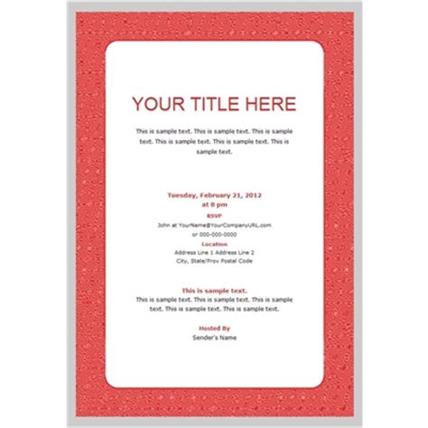 business invitation card templates free formatted business event invitation templates
