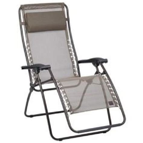fauteuil relaxation lafuma fauteuil relax rsxa havane lafuma achat vente chaise longue transat fauteuil relax