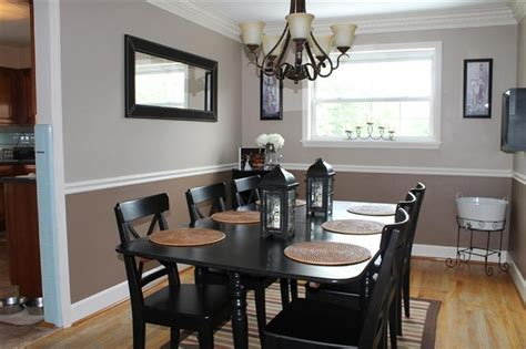 Two Tone Dining Room Wall Colors - 2 tone walls for the dining room kitchen