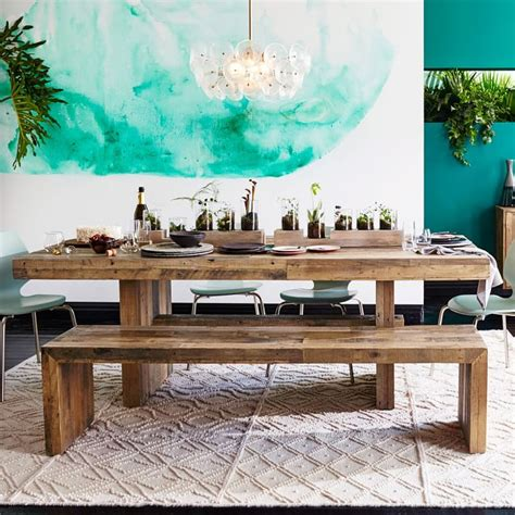 32 Indoor Picnic Table Ideas For A Relaxed Feel Digsdigs Dining Room Picnic Table