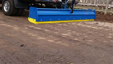Can Pull A Plow pacocha polyurethane edge on pull snow plow landscape