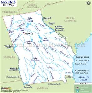 okefenokee sw on map rivers map usa
