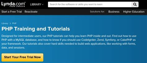 codeigniter tutorial lynda 9 reliable resources to learn php online better tech tips