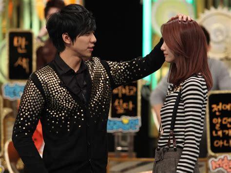 lee seung gi pacar momen manis lee seung gi dan yoona snsd dalam variety show