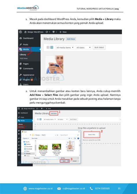 tutorial wordpress uk niagahoster tutorial wordpress untuk pemula part 1