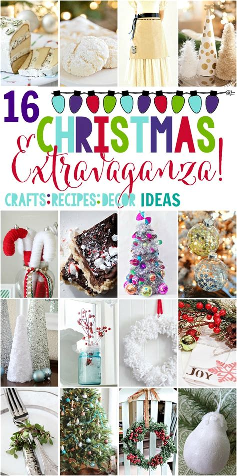 christmas crafts and recipes 16 amazing decor crafts recipe ideas setting for four