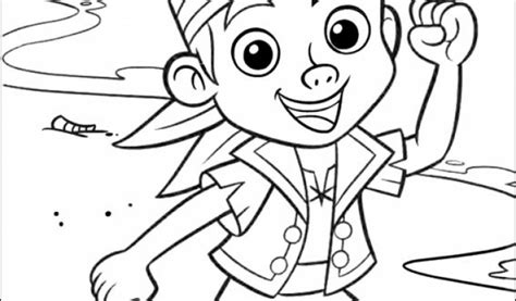 get this jake and the neverland pirates coloring pages