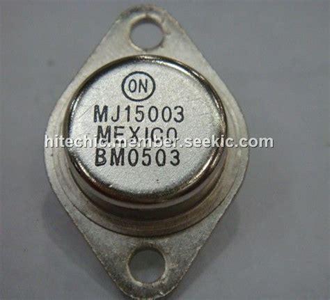 transistor mj15003 transistor mj15003 28 images mj15003 wing shing npn planar silicon transistor документация и