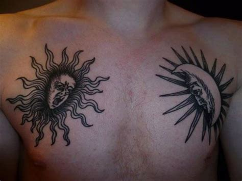 tattoo meaning sun and moon 125 sun and moon tattoo designs for men women wild