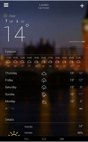 yahoo screen apk yahoo weather 1 1 5 apk for android now