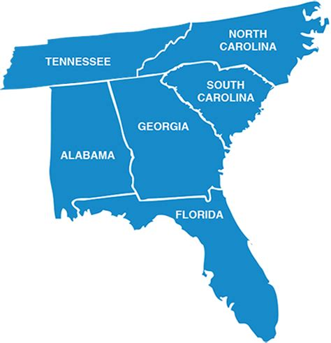 map tennessee carolina southeast specialist inc industrial