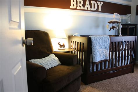 Baby Room Beautiful Ideas For Brown And Blue Baby Nursery Blue And Brown Nursery Decorating Ideas