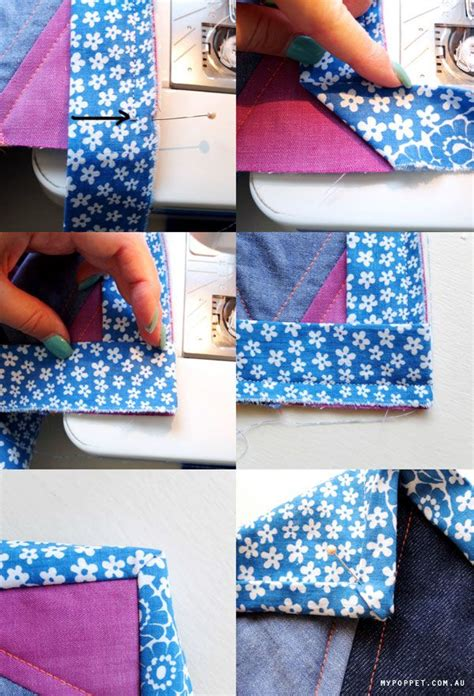 How To Bind A Quilt Corner by Best 25 Quilt Binding Tutorial Ideas On Quilt