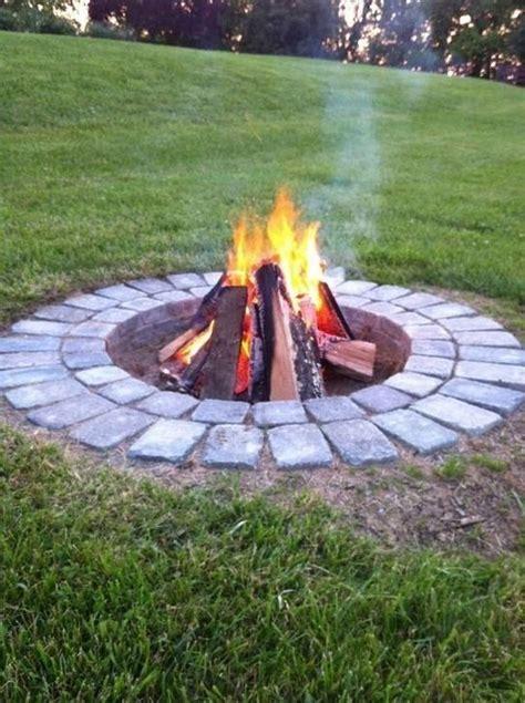 cool  amazing backyard fire pit ideas outdoor fire