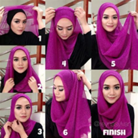 tutorial hijab simple modern 2015 aneka video cara memakai hijab modern simple terbaru 2016