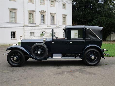 classic cars rolls royce 1927 rolls royce phantom phantom i town car by brewster