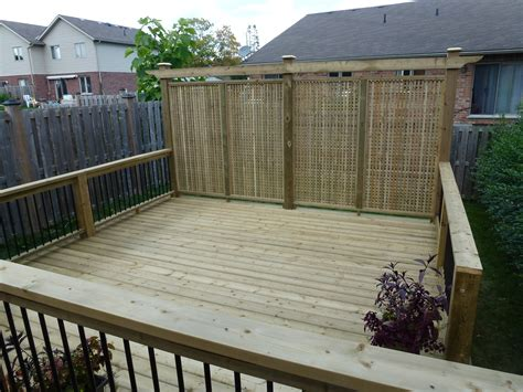 backyard deck cutting edge construction