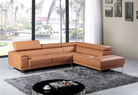 inspirations  camel sectional sofa