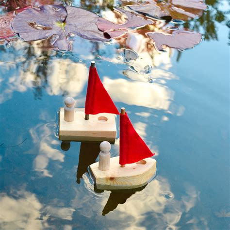 diy simple wooden toy boat woodworking  kids