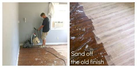 Best 25  Refinishing wood floors ideas on Pinterest   Wood