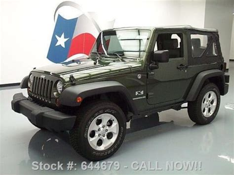 Best Wheels For Jeep Wrangler Buy Used 2008 Jeep Wrangler X Soft Top 4x4 6 Spd 18