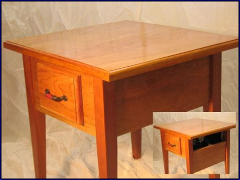 gun end table concealed gun furniture end table 2 secret