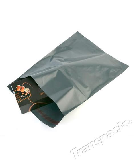 Opaque Used Bag grey opaque mailing bags