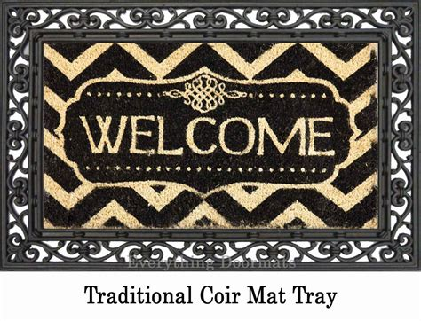 Decorative Welcome Mats by Coco Coir Decorative Welcome Backed Doormat 16 X 28