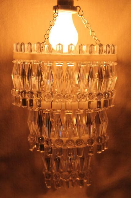 single bulb chandelier rustic wood bead mini single