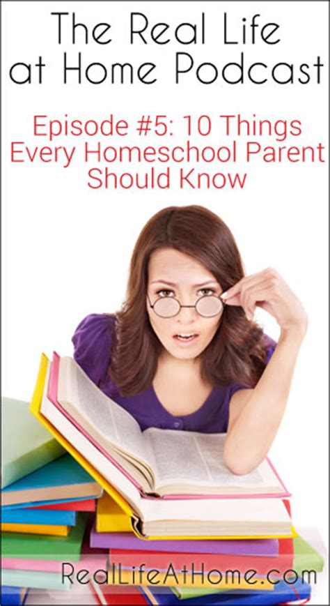 10 Parenting Tips Every Parent Should by Rlah 005 Ten Things Every Homeschool Parent Should