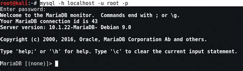xp mysql command line tutorial mysql command line tutorial kali linux yeah hub