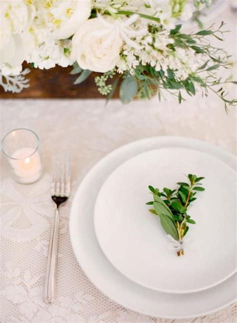 simple table setting beautiful simple wedding table setting the decoration