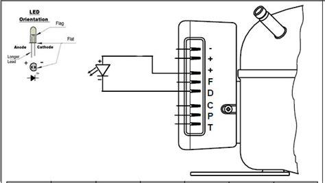 wiring diagram for a refrigerator compressor wiring