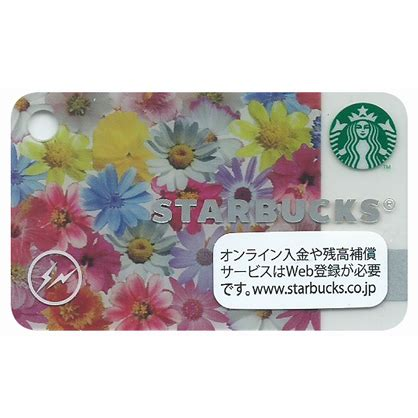 Starbucks Card Japan Mini mini flowers 2 fujiwara 187 starbucks collecting