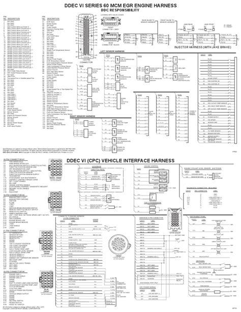 ddec 6 wiring diagram wiring diagram schemes