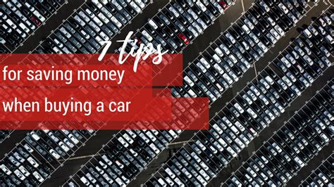7 Tips On Buying A New Car by 7 Tips For Saving Money When Buying A Car Southern Savers