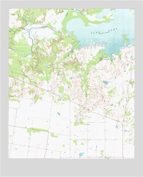 kemp texas map southwest lake kemp tx topographic map topoquest