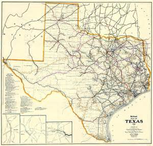 railroad maps railroads tx by dodge 1926