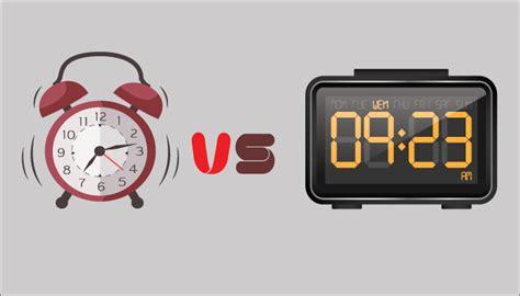 digital compare analog vs digital