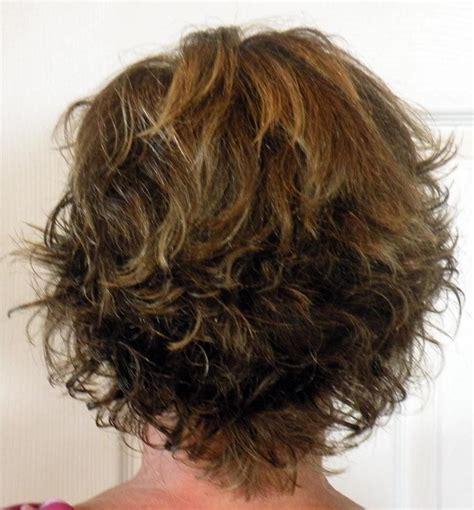 back view wavy short bob for thick hair 2015 short layered haircuts back view haircuts gallery