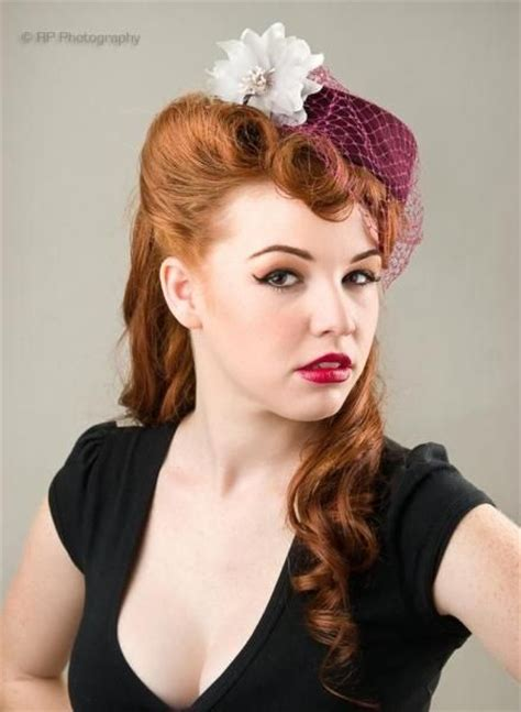 Hairstyles With Hats by 1940s Hairstyles With Hats Www Imgkid The Image