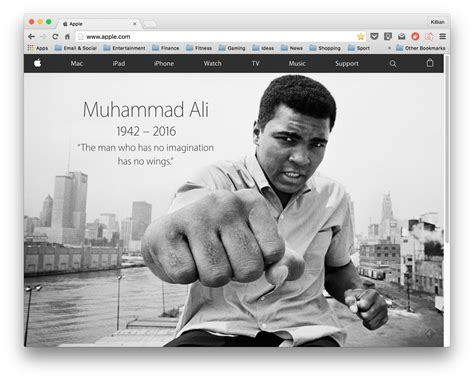 biography muhammad ali en ingles apple s homepage celebrates the life of muhammad ali