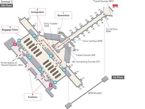 hong kong international airport floor plan hong kong international airport terminal map airport guide jal international flights