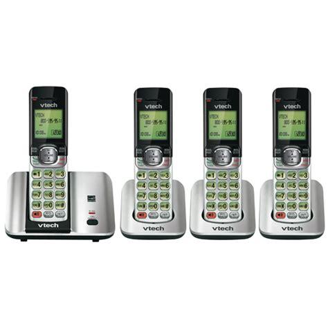 best buy cordless phones vtech 4 handset dect 6 0 cordless phone cs6519 best