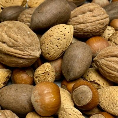 All About Almonds 2 by Mixed Nuts In Shell Per Lb Bulk Available Year